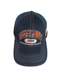 IHSA State Finals Mesh Back Cap (Navy)