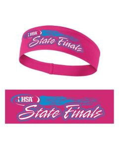 IHSA State Finals  PosiCharge Competitor Headband (Neon Pink)