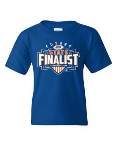 IHSA Future State Finalist Youth Short Sleeve T-Shirt (Royal)