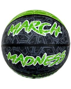 IHSA March Madness Mini Basketball (Lime/Grey)