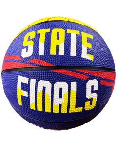 IHSA March Madness Mini Basketball (Blue/Yellow/Red)
