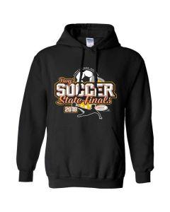 2018 IHSA Boys Soccer Hooded Sweatshirt