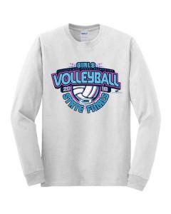 2018 IHSA Girls Volleyball Long Sleeve T-Shirt