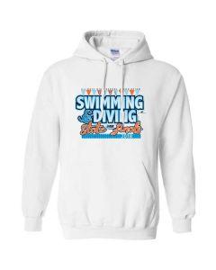 2018 IHSA Girls Swimming and Diving Hooded Sweatshirt