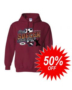 2019 IHSA Boys Soccer Hooded Sweatshirt
