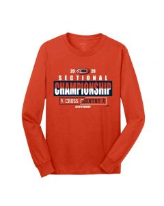 IHSA State Series Cross Country Sectional Championship Long Sleeve Tee