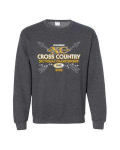 IHSA State Series Cross Country Sectional Championship Crewneck Sweatshirt