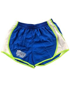 "IHSA State Finals Ladies' 3"" Speed Shorts (Royal/Lime/White)"
