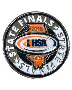 IHSA 2018-19 State Finals Pin