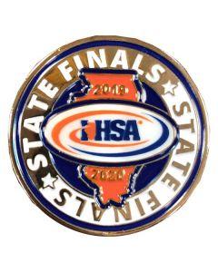 IHSA 2019-20 State Finals Pin
