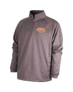 IHSA Sport Fleece ¼ Zip (BLACK HEATHER)