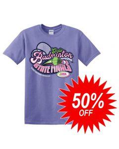 2020 IHSA Badminton Short Sleeve T-Shirt