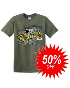 2020 IHSA Bass Fishing Short Sleeve T-Shirt