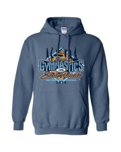 2019 IHSA Boys Gymnastics Hooded Sweatshirt