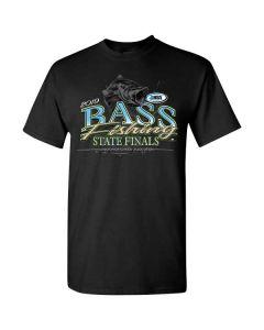 2019 IHSA Bass Fishing Short Sleeve T-Shirt