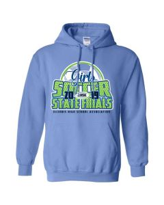 2019 IHSA Girls Soccer Hooded Sweatshirt