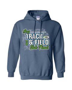 2019 IHSA Boys Track and Field Hooded Sweatshirt