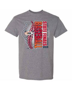2019 IHSA Boys Baseball Short Sleeve T-Shirt