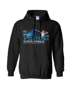 2019 IHSA Boys Volleyball Hooded Sweatshirt