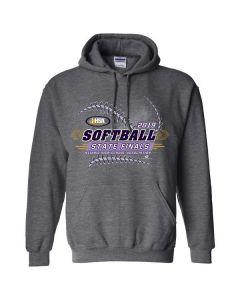2019 IHSA Girls Softball Hooded Sweatshirt