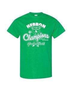 IHSA Traditions 1952 Hebron State Champions Tee Shirt - Design 1