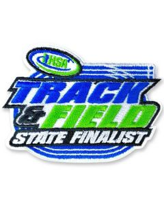 IHSA  Track and Field State Finalist Patch (Oval)