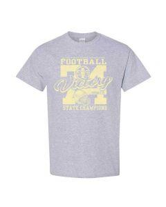 IHSA Traditions 1974 Football State Championship Tee Shirt - Design 1