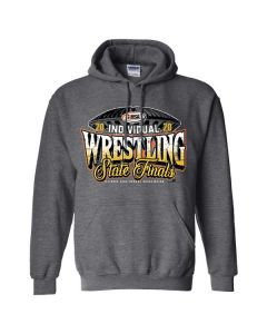 2020 IHSA Individual Wrestling Hooded Sweatshirt