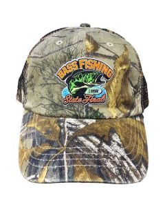 IHSA State Finals Bass Fishing Camo Cap
