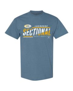 2021 IHSA Lacrosse Sectional Short Sleeve Tee