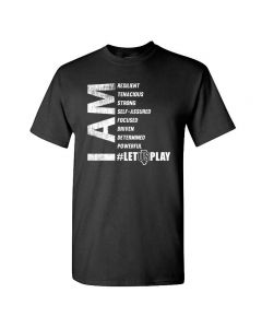 LET US PLAY D4 Short Sleeve Tee