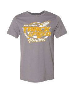 Lockport HS Track and Field Short Sleeve Jersey Tee