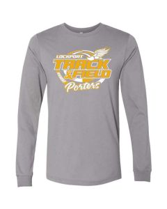 Lockport HS Track and Field Long Sleeve Jersey Tee
