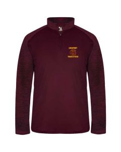 Lockport HS Track and Field Lightweight 1/4 Zip Performance Pullover