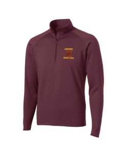 Lockport HS Track and Field  Stretch 1/4 Zip Pullover