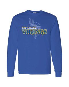 Tri Valley PTO Long Sleeve Cotton T-shirt