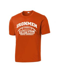 NCHS Football Performance Short Sleeve Team Tee