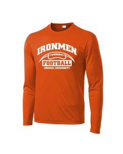 NCHS Football Performance Long Sleeve Team Tee