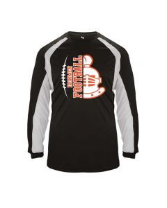 NCHS Football Long Sleeve Performance tee - D2