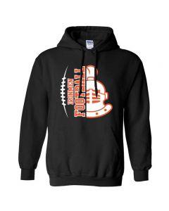 NCHS Football Hoodie D2