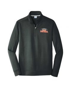 NCHS Football Performance 1/4 zip Sweatshirt