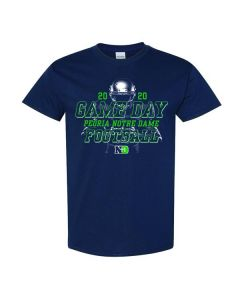 Peoria Notre Dame Football Game Day Short Sleeve Tee Shirt