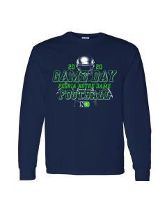 Peoria Notre Dame Football Game Day Long Sleeve Tee