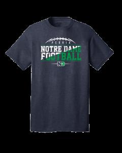 Peoria Notre Dame Football Short Sleeve Shirt