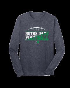 Peoria Notre Dame Football Long Sleeve Shirt
