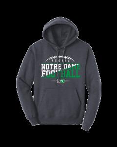 Peoria Notre Dame Football Hooded Sweatshirt