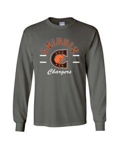 Chiddix Spiritwear Long Sleeve Cotton T-shirt (Design 2)