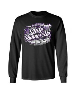 Wilmington HS State Cheer Long Sleeve Tee with Team Names On Back