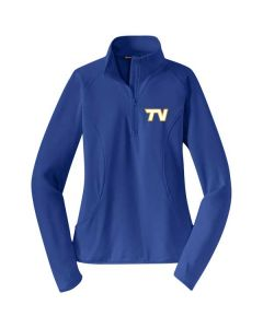 Tri Valley JFL Ladies Sport-Wick Stretch 1/2 Zip Pullover