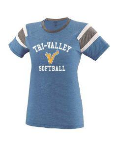 Tri-Valley MS Softball Ladies Fanatic T-Shirt